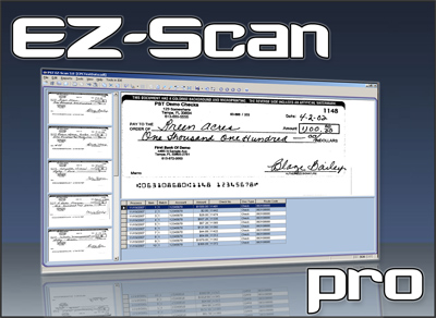 EZ-Scan® Professional is the full featured version of EZ-Scan® Workstation